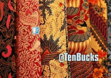 send you a good original handmade Javanese Batik