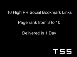 SEO Services – High PR Social Bookmark