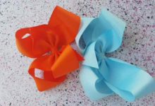 Extra large bowtique hair bows ×3