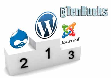customize joomla or wordpress site