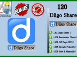 I will give you 120 Diigo Bookmarks for 2 Link For $10