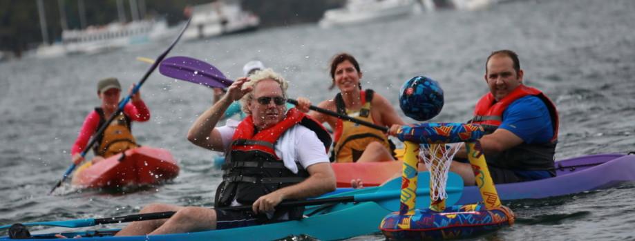 I'll teach you how to Kayak