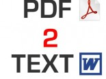 I'will converte any PDF to word