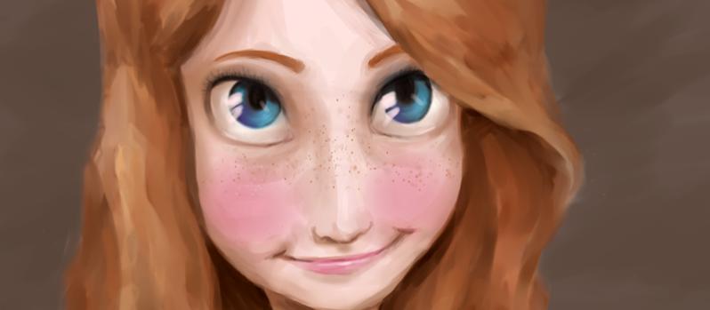 I will draw a cartoon portrait