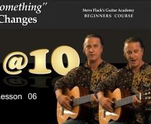 Lesson 06 – Change by improvisation  – Steven Flack