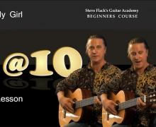 """Guitar Lesson – Song """"MY Girl"""" – Steve Flack"""