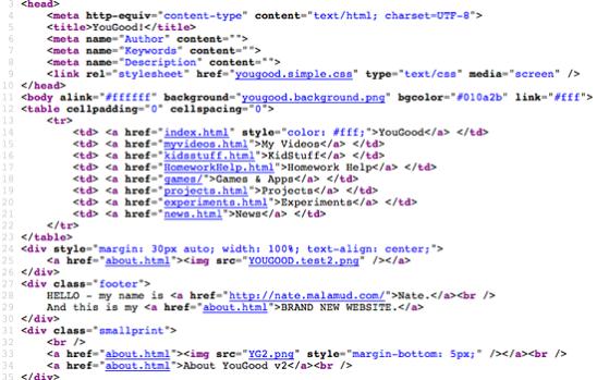 Create Web Page